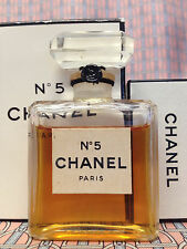 Vintage 1970s Chanel No 5 Extrait Pure Parfum 1/2 oz 14 ml SEALED - OLD FORMULA