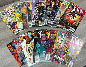 Lot of 21 UnCanny X-Men Comics. Various issues/years.
