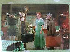 MARILYN MONROE POSTCARD Bus Stop 1956 holding suitcase pointing