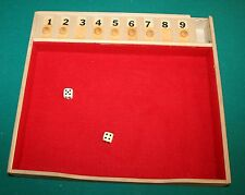 VTG Dice Cover-UP Game EUC