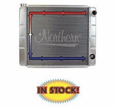 "Northern Aluminum Race Pro Double Pass Radiator - 24"" W x 19"" H - N-209633"