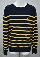 NAUTICA Medium Mustafield Long Sleeve Striped Pullover Sweater