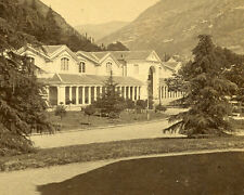 PAPETERIE Mine DUFOUR BAGNERES de BIGOREE STEREOVIEW THERMAL BATH  LUCHON FRANCE