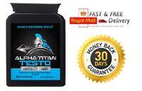 ALPHA TITAN TESTO - Advanced Testosterone Booster - NEXT DAY DELIVERY