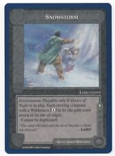 Middle Earth Wizards Unlimited Snowstorm, M-NM, NBP