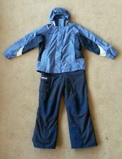 2pc ski snow board suit,Columbia Bugaboo jacket, Tectonite bib pants, boys 14/16