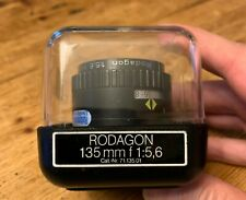Rodenstock Rodagon 135mm F/5.6 Enlarging Lens. Clean. Great lens.