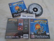 Monster Racer PS1 (COMPLETE) racing black label rare Sony Playstation