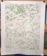 Vintage 1953 USGS UNIONVILLE QUADRANGLE PA-CHESTER COUNTY 1:24,000