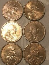 2000 D And P Sacagawea One Dollar US Liberty Coin Denver Mint