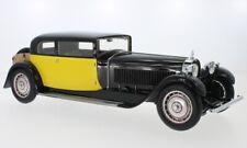 1929 Bugatti Type 41 Royale Coach by Weymann Yellow/Black 1/18 Scale LE300 New!