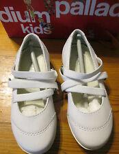 Chaussures blanches pour fille de 2 à 16 ans pointure 25
