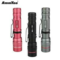 1000 Lumen Zoomable CREE 1101 Q5 LED Flashlight Torch Zoom Super Bright Light
