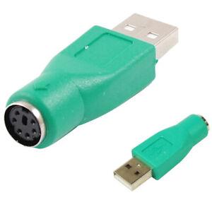 USB Mâle vers PS / 2 PS2 Femelle Adaptateur Souris Clavier Convertisseur USB