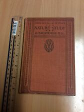 Nature Study by E Steinhouse – First Books of Science Reprint 1931