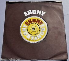 "The Cats 'N' Jammer Kids - Disco Drum 1977 Ebony Demo 7"" Single"