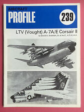 AIRCRAFT Profile Publications No.239 - LTV (Vought) A-7A/E Corsair II - Aviation