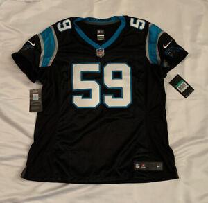 Luke Kuechly #59 Carolina Panthers Nike Women's Limited Jersey XL NWT $150