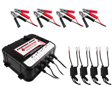 2AMP 6/12V Battery Charger/Maintainer w/ 4 Bays + USB Ports 2 YEAR WARRANTY