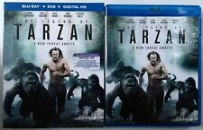 THE LEGEND OF TARZAN BLU RAY DVD 2 DISC SET + SLIPCOVER SLEEVE FREE SHIPPING