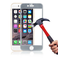 AU Metal Edge Full Coverage Tempered Glass Screen Film For iPhone 6/6S 4.7''