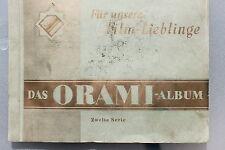 9375 ORAMI Album Für unsere Film-Lieblinge 2 1931 trading card book Film actors