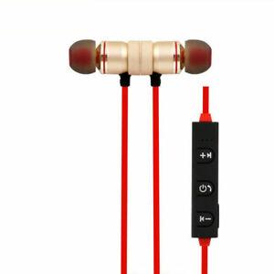 Sports In-Ear Wireless Earphones Bluetooth 4.2 Stereo Headphones Headsets W/ Mic
