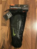 Nike Protegga Flex | Schienbeinschoner Fussball | Schwarz | Gr XL / TG | NEU