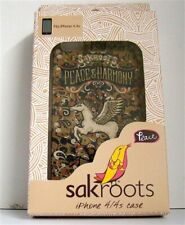 Sak Roots Iphone 4, 4S Case Style 10522 Metl Dland