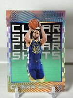 2019-20 Panini Illusions Stephen Curry #9 Clear Shots Emerald Acetate - Warriors