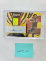 2019-20 Select GOLD CAM REDDISH RC Rookie RPA Auto Patch Jersey RARE YM072-200