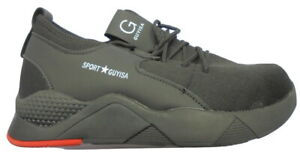 UK Safety Shoes Mens Steel Toe Cap Sport trainer Shoes Protective Footwear  UK 9