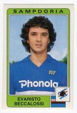 1984-85 Squadra SAMPDORIA Calciatori Panini SCEGLI *** figurina con velina ***