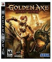 Golden Axe: Beast Rider PlayStation 3 PS3 Game Rpg Fantasy Collectible