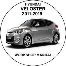 hyundai veloster 2011-2015 Workshop Service Repair Manual