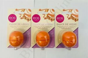 3 x EOS Evolution Of Smooth Natural Shea Lip Balm 7g - Sealed