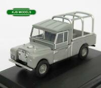 BNIB OO GAUGE OXFORD 1:76 76LAN1109001 LAND ROVER SERIES 1 GREY
