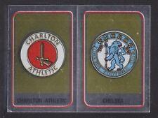 Panini - Football 84 - # 405 Charlton / Chelsea Foil Badge