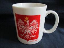 Ethnic Polish Eagle Coffee Mug Cup Polska Poland Polart Red White