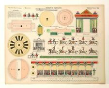 Imagerie D'Epinal No 505 Grand Cirque/Grandes Constructions toy paper model