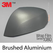 10x20cm FILM Brushed Aluminium 3M 1080 BR120 Vinyle COVERING Series Wrap Film