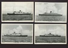 Unposted Raphael Tuck & Sons Collectable Manx Postcards