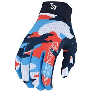Troy Lee Designs Air Gloves Youth Kids Mx Motocross Bmx Mtb Dh CAMO ORANGE