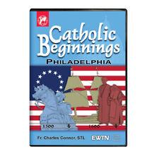 CATHOLIC BEGINNING PHILADELPHIA W/ FR. CHARLES CONNOR:  AN EWTN DVD