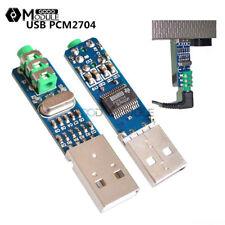 USB Powered PCM2704 Sound Card DAC Decoder 5V Board 98 dB for PC Computer