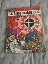 BD Blake & Mortimer Tome 8 Le Piège Diabolique Par Edgard P. Jacobs Edition 1967