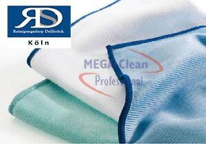 MEGA CLEAN  Mikrofaser Poliertuch Geschirrtuch  Fenstertuch  1 Stück Farbe Blau