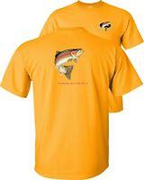Rainbow Trout Fishing T-Shirt Profile