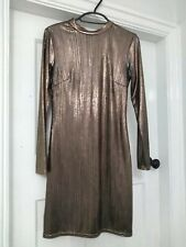 Atmosphere Gold Dress Size 8