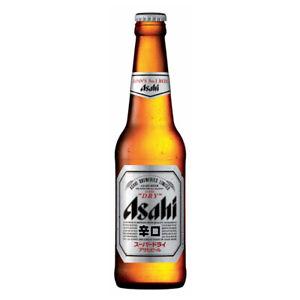 Asahi Super Dry 33cl Glass Bottles - Pack of 24